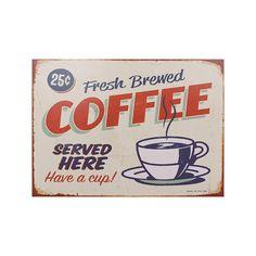 Tela Impressa Fresh Brewed Coffee - Telas - Arte & Design