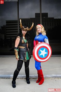 Marvel Costuming: Avengers Assemble at Dragon*Con 2012    Photo by Judy Stephens    http://marvel.com/images/gallery/gallery/163/dragoncon_2012_cosplay_costuming #Costume #Ideas #Cosplay #DragonCon #Atlanta #Halloween