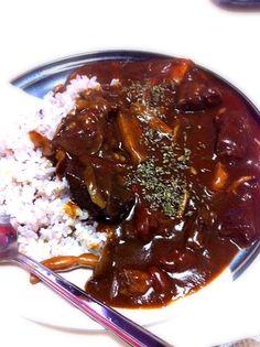 赤ワインで煮込んでみました♡ - 2件のもぐもぐ - キノコビーフカレー by yuikipanch