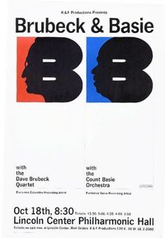Dave Brubeck & Count Basie....jazz cats!