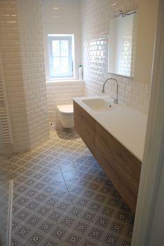 ceramic floor tile Rosalie by Revoir Paris