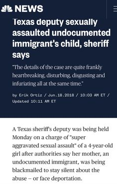 """""""There are Atrocities happening on American soil at the hand of the trump Administration & The Republican Congress who allow it. Wake Up and Do Something America!! This is not who we are!!! VOTE NOVEMBER 6th 2018!!!"""""""