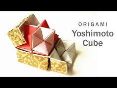 New Origami Modular Cube Math Crafts Ideas Origami Design, Diy Origami, Origami Toys, Origami Cube, Origami Bag, Origami Envelope, Origami Paper Art, Origami Fish, Origami Bookmark