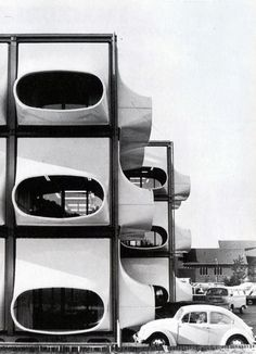 AZM office 1970. [What happens when junkyard dogs build their own kennels.]
