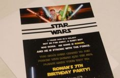 LEGO Star Wars birthday ideas