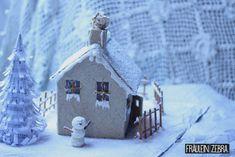 Veschneites Kekshäuschen | Snowy Cookie House