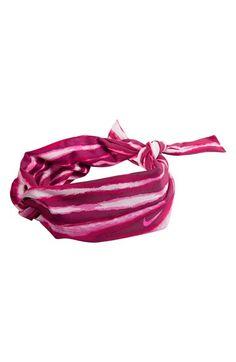 Nike Studio Twist Black//Purple//Ice Blue Swoosh Printed Head Tie Sz OS **