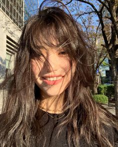 Ulzzang Korean Girl, Cute Korean Girl, Asian Girl, Kim Doyeon, Uzzlang Girl, Aesthetic Hair, Mode Outfits, Messy Hairstyles, Asian Hairstyles Women