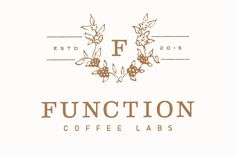 Function Coffee Labs- Logo by Melissa Yeager