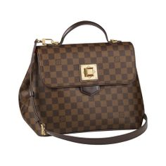……❤❤❤…… Louis Vuitton Damier Ebene Canvas Bergamo Mm N41168 Cad ,\(^o^)/~ From Top Fancy.com Pins~!! ۞✄……