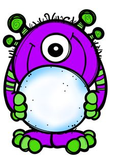 Cartoon Monsters, Cute Monsters, Monster Clipart, Monster Coloring Pages, Monster Under The Bed, Halloween Rocks, Monster Cards, Green Monsters, Black N White Images