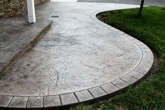 Seamless Stamped Concrete patio with hand tooled border an… | Flickr
