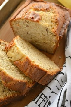 Banana Bread with Cream Cheese
