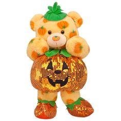 Jack-O-Lantern Pumpkin Pal Teddy - Build-A-Bear Workshop.....I want this sooo bad! So cute.
