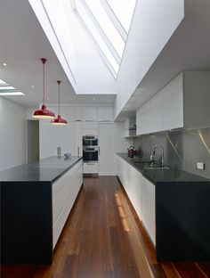 The kitchen is often considered the central hub of the family home. DX Architects specialises in the design of modern kitchens which meet client requirements