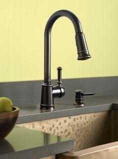 Lindley kitchen faucet
