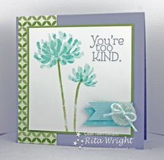 FMS: Too Kind Flower by kyann22 - Cards and Paper Crafts at Splitcoaststampers