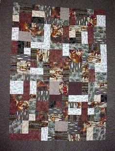 hunting quilt - Bing Images | Deer Quilt | Pinterest | Lapptäcke ... : hunting quilts - Adamdwight.com