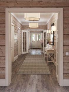 Log Home Interiors, Guest Bedroom Decor, Lodge Decor, Farmhouse Interior, House In The Woods, Log Homes, Cozy House, Home Interior Design, My Dream Home