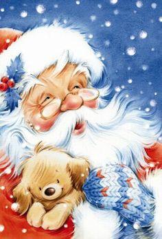 Adorable christmas art. Also see beautiful #christmas screen savers http://www.fabuloussavers.com/christmasscreensavers5.shtml
