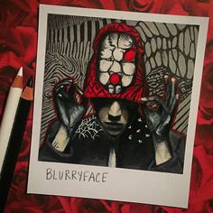 love that the album blurryface led more people (like me) to listening to twenty one pilots. lots are being helped by the music now.  #cliqueart