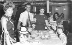 Memories of an Irish Mother of Emigrating to Australia in 1967.  At the dinner table where the children were having a party. Peter, myself and the four youngest children.