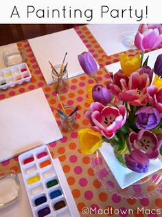 Madtown Macs: Let's Paint! A Painting Birthday Party!