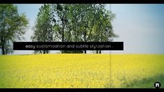 Beautiful Fresh Spring Motion 5 and FCPX Template http://motionvfx.com/N1226