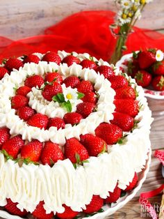 Cute Cakes, Yummy Cakes, Strawberry Roll Cake, Delicious Desserts, Dessert Recipes, Chocolate Fruit Cake, Cake Slicer, Cake Decorating Piping, Classic Cake