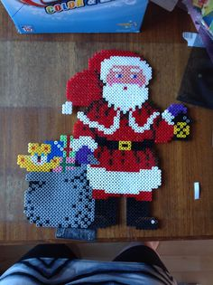 Santa Claus - Christmas perler beads