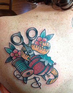 sewing tattoo | Flickr - Photo Sharing!