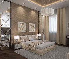 Glamorous and exciting bedroom decor. See more luxurious interior design details at luxxu.net #bedroomdesign