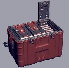 Ammo crate 2012, OccultArt _ on ArtStation at https://www.artstation.com/artwork/r0N4O