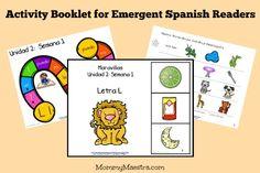 Free Download: Emergent Spanish Reader Activity Booklet