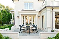 Outdoor dining at its finest Architectural Details American Architectural Detail Porch RooftopTerrace by Wade Weissmann Architecture Inc