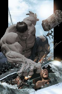 Ultimate Comics Ultimates Vol.1 #8 By: Kaare Andrews #hulk