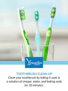 How to Clean Your Toothbrush Without Chemicals - Coronavirus, flu and allergy season come to a head in your home? 😷 Now is a great time to replace or clean your toothbrushes.