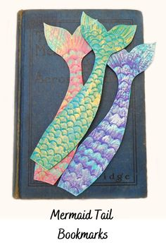 My Bookmarks, How To Make Bookmarks, Mermaid Gifts, Cute Mermaid, Personalized Bookmarks, Personalized Gifts, Small Gifts, Gifts For Kids, Leather Bookmark