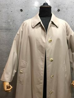 5c6a03681c3 BURBERRYS 70s 80s Vintage Balmacaan Coat Size 16 Long Beige Made in England  Y82  fashion  clothing  shoes  accessories  otherclothingshoesaccessories  (ebay ...