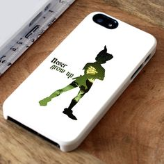 Disney Peter Pan Never Grow Up Quotes | iPhone 4 Case | iPhone 5 Case | iPhone 5C Case | iPhone 6 Case | Samsung Galaxy S4/S5 Cases - lovedrstyle