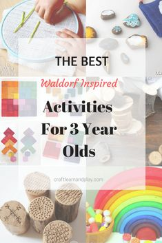 8 The Best Waldorf Inspired Activities And Crafts For 3 Year Olds