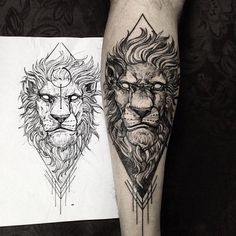 #blackworkerssubmission #blacktattooart #tatuagem #tattoo #lion #liontattoo #pietatattoo #belohorizonte #brasil