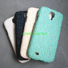 Samsung Galaxy S4 I9500 case |Galaxy S4 case| Mint green, White-on-White, Gold and White and Black with Metallic BLue | European Style