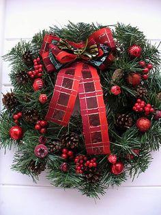 Vianočný veniec na dvere II