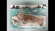 Draw A Weddell Seal in the Antarctic Winter Art, Seals, Arctic, Art Lessons, Moose Art, Draw, Teaching, Make It Yourself, Videos