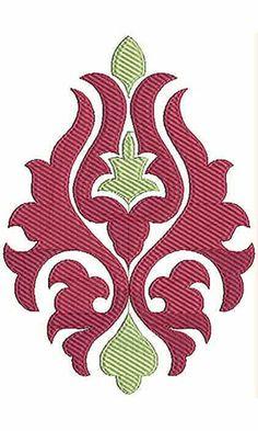 6.88 x 4.84 Inch Applique Embroidery Design