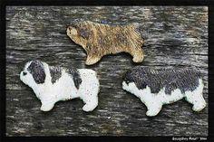 Ceramic Dog ( Polish Lowland Sheepdog ) http://www.szczesliwyaniol.eu/  https://www.facebook.com/SzczesliwyAniol?fref=ts