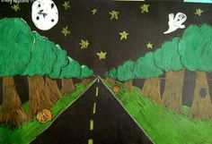 """From exhibit """"Midnight Landscape (4)""""  by Molly504"""