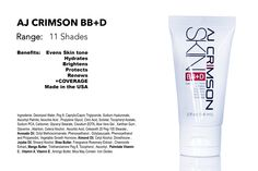 NEW AJCRIMSON BB+D CREAM! | AJ Crimson Beauty