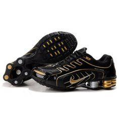 bdf9d7c03bd Nike Shox R5 608 Black Gold Men Shoes  79.59 Nike Shox Shoes
